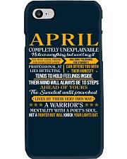 April - Completely Unexplainable Phone Case thumbnail