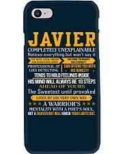 Javier - Completely Unexplainable Phone Case thumbnail