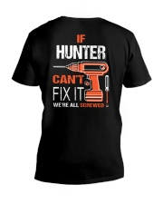 If Hunter Cant Fix It - We Are All Screwed V-Neck T-Shirt thumbnail