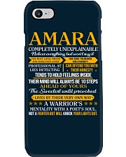 AMARA - COMPLETELY UNEXPLAINABLE Phone Case thumbnail