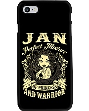 PRINCESS AND WARRIOR - Jan Phone Case thumbnail