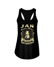 PRINCESS AND WARRIOR - Jan Ladies Flowy Tank thumbnail