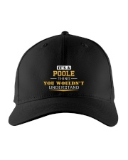 POOLE - Thing You Wouldnt Understand Embroidered Hat front