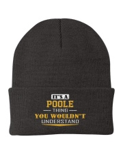 POOLE - Thing You Wouldnt Understand Knit Beanie thumbnail