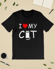 I LOVE MY CAT Classic T-Shirt lifestyle-mens-crewneck-front-19