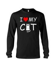 I LOVE MY CAT Long Sleeve Tee thumbnail