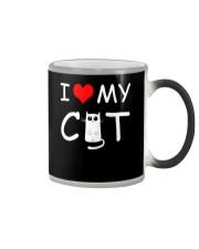I LOVE MY CAT Color Changing Mug thumbnail