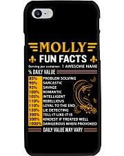 Molly Fun Facts Phone Case thumbnail