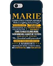MARIE - COMPLETELY UNEXPLAINABLE Phone Case thumbnail