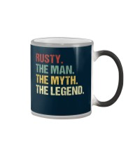 THE LEGEND - Rusty Color Changing Mug thumbnail