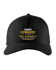 EDWARDS - Thing You Wouldnt Understand Embroidered Hat front