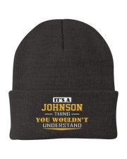 JOHNSON - Thing You Wouldn't Understand Knit Beanie thumbnail