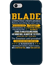 Blade - Completely Unexplainable Phone Case thumbnail