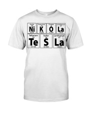 Nikola Tesla the father of 21st century Classic T-Shirt front
