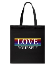 LOVE YOURSELF BY MINDSET SPARKLE Tote Bag thumbnail