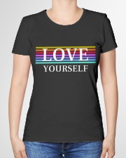LOVE YOURSELF BY MINDSET SPARKLE Premium Fit Ladies Tee garment-premium-tshirt-ladies-front-01