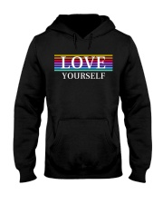 LOVE YOURSELF BY MINDSET SPARKLE Hooded Sweatshirt thumbnail