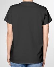 I started working as a pharmacy technician Ladies T-Shirt garment-tshirt-ladies-back-01