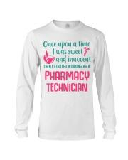 I started working as a pharmacy technician Long Sleeve Tee thumbnail