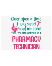 I started working as a pharmacy technician 17x11 Poster thumbnail