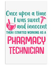 I started working as a pharmacy technician 11x17 Poster thumbnail