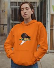 Heavy Hors d'oeuvres Album Merch Hooded Sweatshirt apparel-hooded-sweatshirt-lifestyle-08