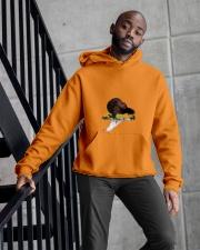 Heavy Hors d'oeuvres Album Merch Hooded Sweatshirt apparel-hooded-sweatshirt-lifestyle-front-10