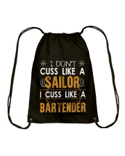 I am a Cashier Drawstring Bag thumbnail
