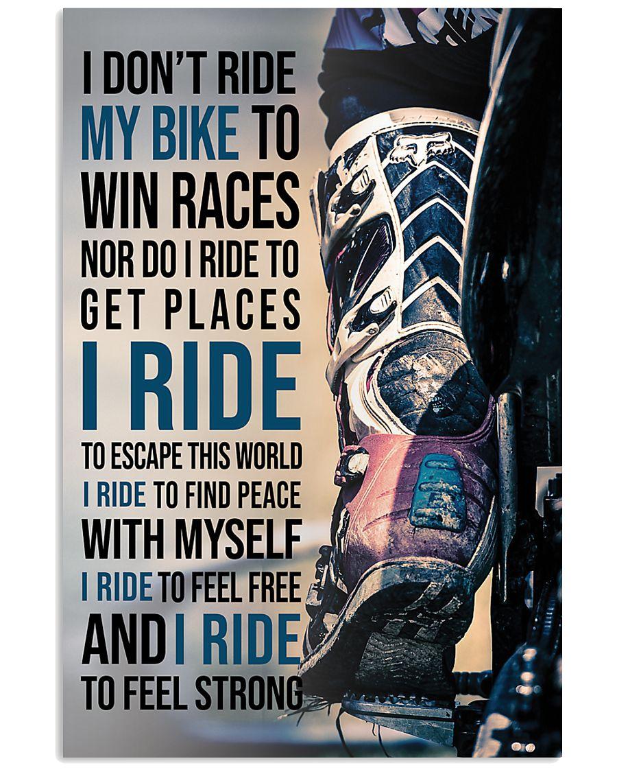 Dirtbike Riders I Ride My Bike To