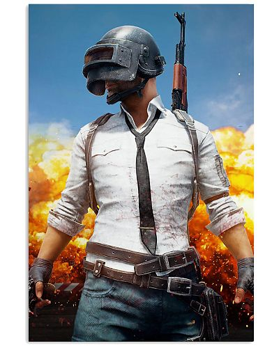 PUBG Battle Royale Graphic Cool Video Game Poster
