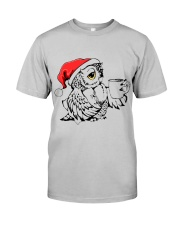 Owl's Christmas in a snowy world T-shirt Classic T-Shirt thumbnail