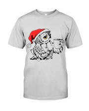 Owl's Christmas in a snowy world T-shirt Premium Fit Mens Tee thumbnail