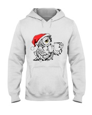 Owl's Christmas in a snowy world T-shirt Hooded Sweatshirt thumbnail