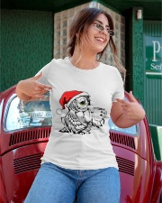 Owl's Christmas in a snowy world T-shirt Ladies T-Shirt apparel-ladies-t-shirt-lifestyle-01