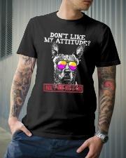 Funny Australian Cattle Dog Attitude Shirt Classic T-Shirt lifestyle-mens-crewneck-front-6