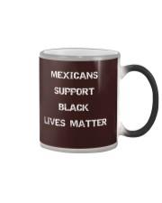 Mexicans Black Lives Matter Color Changing Mug thumbnail