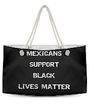 Mexicans Black Lives Matter Weekender Tote thumbnail