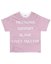 Mexicans Black Lives Matter All-over T-Shirt thumbnail