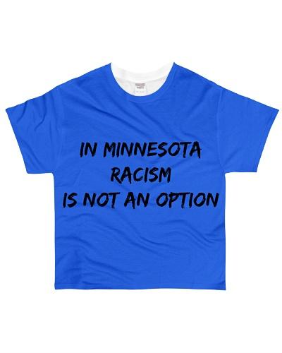 Black Lives Matter Racism Not an Option Minnesota