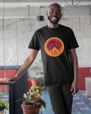 EID MUBARAK Muslim Holidays Celebration Classic T-Shirt apparel-classic-tshirt-lifestyle-front-34