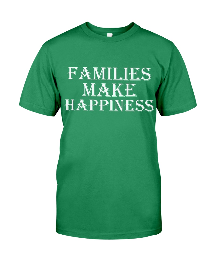 Families make happiness Premium Fit Mens Tee