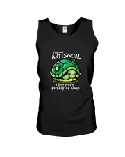 I'M NOT ANTISOCIAL I JUST PREFER TO STAY AT HOME Unisex Tank thumbnail