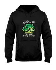 I'M NOT ANTISOCIAL I JUST PREFER TO STAY AT HOME Hooded Sweatshirt thumbnail
