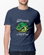 I'M NOT ANTISOCIAL I JUST PREFER TO STAY AT HOME Classic T-Shirt lifestyle-mens-crewneck-front-13