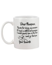 BirthDay Christmas Gift PawPaw Coffee Mugs Mug back