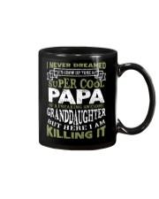 SUPER COOL PAPA SHIRT Mug thumbnail