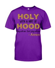 Holy with a hint of Hood Classic T-Shirt tile