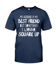 MY HUSBAND IS MY BEST FRIEND Classic T-Shirt tile