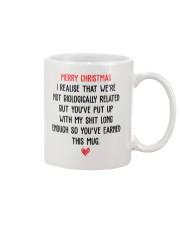 Funny Step Dad Christmas Gift Mug Mug front