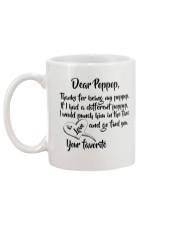 BirthDay Christmas Gift Poppop Coffee Mugs Mug back